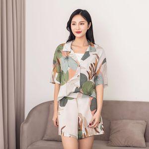 Image 1 - Conjunto de pijama corto para novedad para verano
