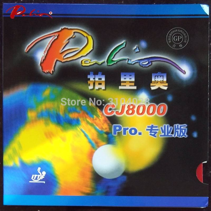 Palio Official CJ8000 Pro Table Tennis Rubber Sticky Rubber With High Elastic Blue Sponge Rubber