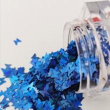 12 цветов голографическая лазерная бабочка Блестящие Блестки