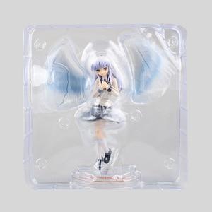 Image 5 - 1/8 21cm New Anime Angel Beats Tenshi Tachibana Kanade White Angels Wings School Uniform Ver PVC Collectible Action Figure Doll