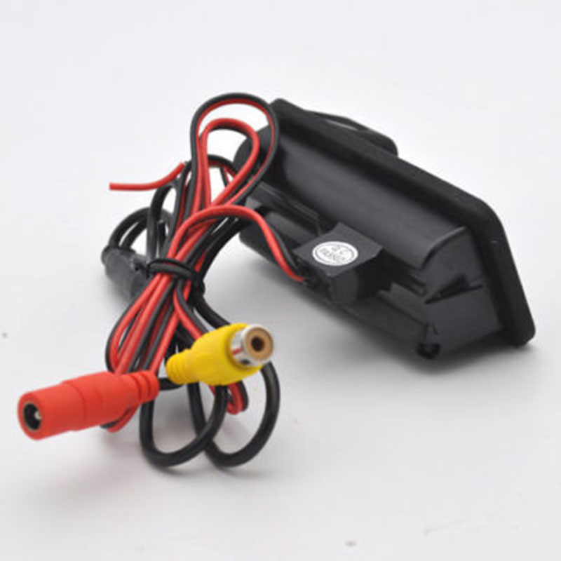 12V DC 200mA Car Trunk Handle Rear View Reverse Parking Camera HD For Land Rover Range L322 6m Video Cable 1/3