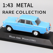 Car-Model Collection-Toys 1:43 DIECAST WEIGHT WILLYS 1966 AERO AND Perfect-Size