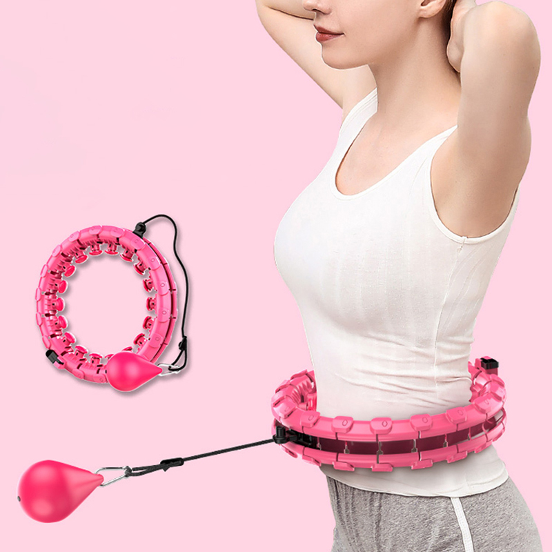 Magic Hoop Thin Waist Abdominal Exercise Loss Weights Intelligent Counting Smart Sport Fitness Never Falling Hoop Massage Hoops