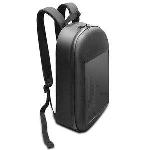 Image 5 - SOL LED écran affichage LED sac à dos bricolage sans fil Wifi APP contrôle publicité sac à dos en plein air LED marche panneau daffichage sac à dos
