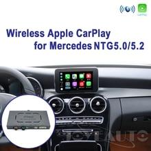 Joyeauto Kablosuz Apple Carplay Araba oynamak Android Otomatik Ayna Güçlendirme Mercedes A B C E G CLA GLA GLC S Sınıfı 15 19 NTG5 W205