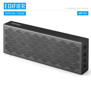 Image 1 - EDIFIER MP120 bluetooth speaker Support TF Card AUX Input CNC Technology Dual full range bluetooth 5.0 speakers