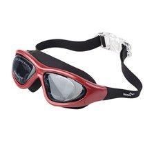 Большая рамка для взрослых мужчин и женщин Анти-туман Водонепроницаемый УФ защитный открытый Крытый плавательный удобные очки стекло