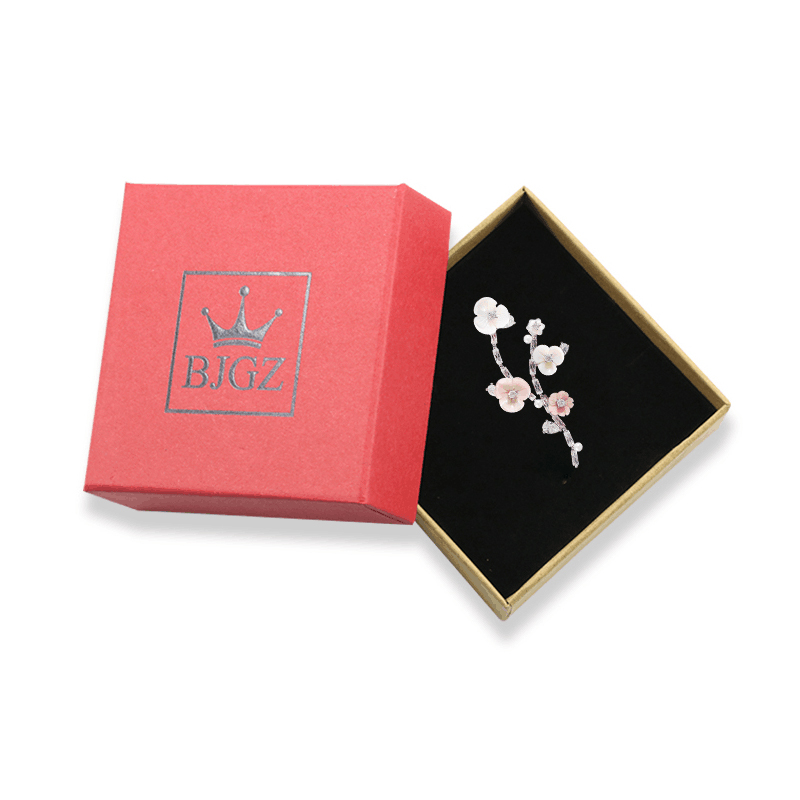 Gift Box For Brooches Luxury Jewelry Packaging