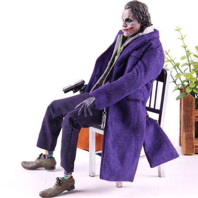 1/6th échelle le chevalier noir Joker PVC Collection modèle jouet jouets chauds Batman le Joker 20 DX11 figurine