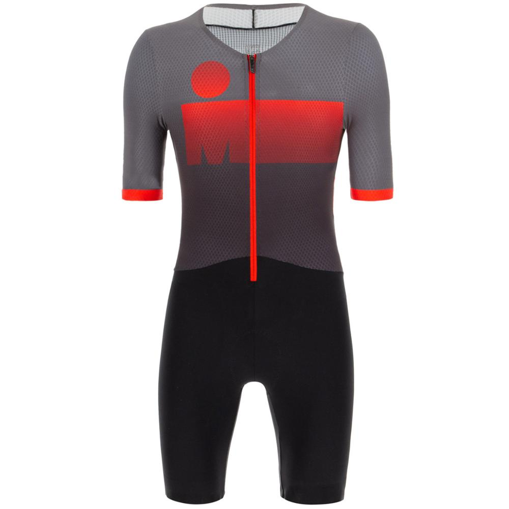 High Quality New 2020 Black Red Cycling Skinsuit Triathlon Ropa Ciclismo Skin Suit Speedsuit Jumpsuit