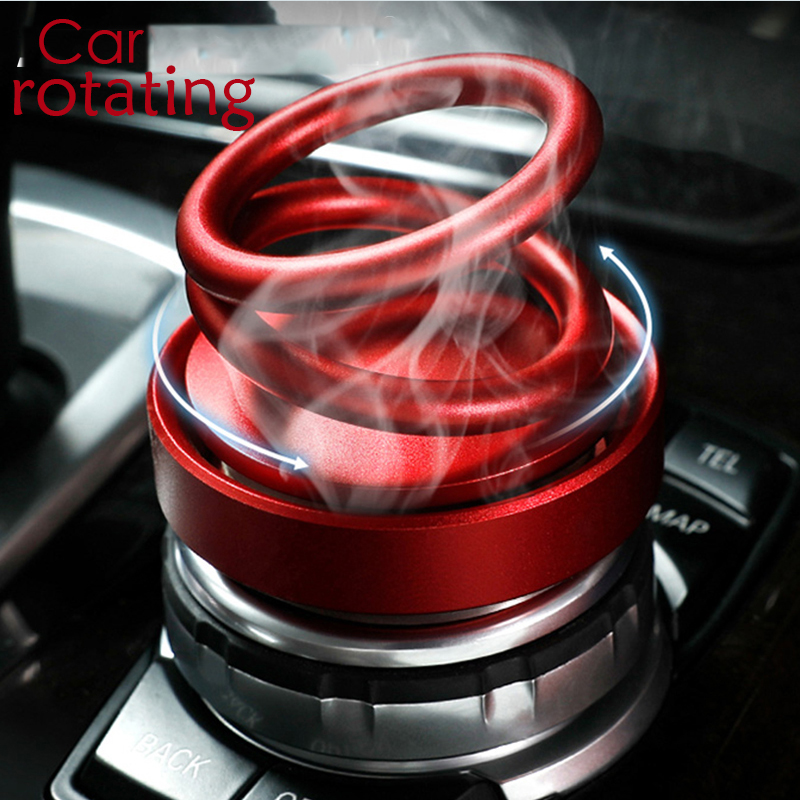 2019 New Car Aroma Diffuser Car Air Freshener Purifier Perfume Cologne Marine Scent Fragrance Alloy ABS Car Ornament Accessories