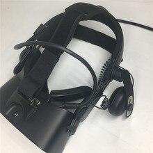 Adaptador de bandana de liberação rápida para oculus riff s para viver deluxe alça de áudio vr fone de ouvido adaptador de ajuste de conforto