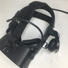Adaptador de diadema de liberación rápida para Oculus Rift S to Vive Deluxe, correa de Audio VR, auriculares, diadema, adaptador de ajuste cómodo