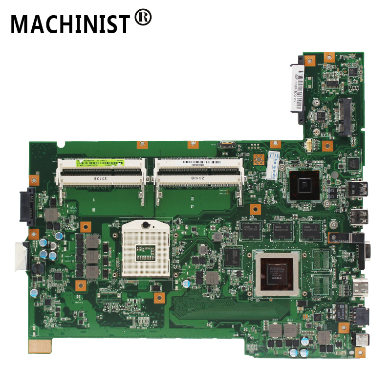 Original For ASUS G74SX G74S G74 2D Laptop Motherboard MB GTX560M 2G REV:2.1 HM65  100% Fully Tested