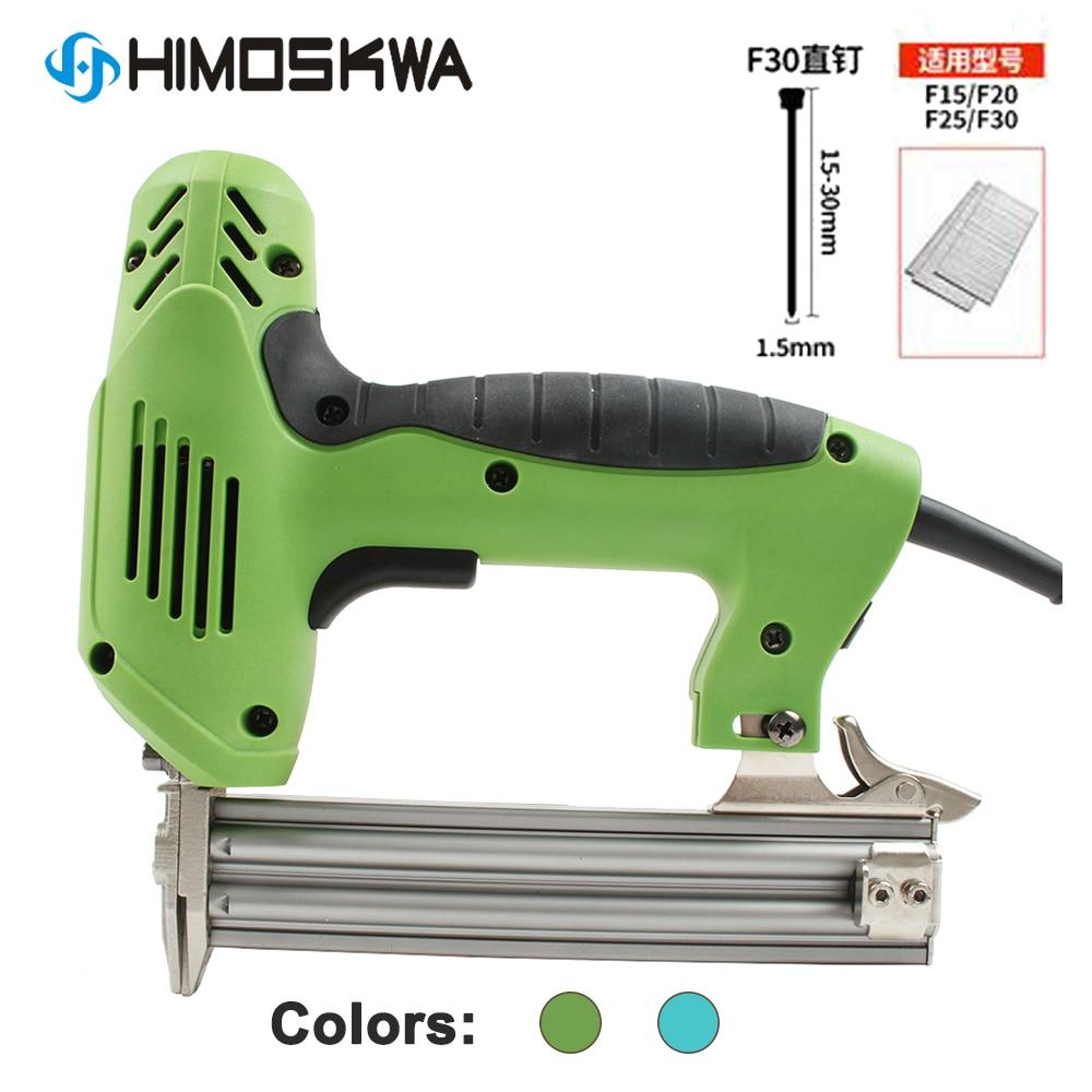1800W ~2000W Mini Electric Nail Gun Straight Nail Gun Electric Tool 30 PCS/MIN 220V~240V Woodworking For Furniture