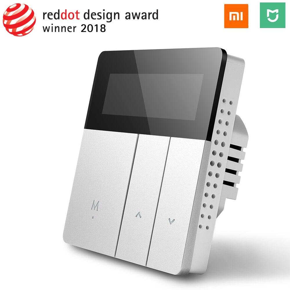 Xiaomi Mijia WiFi inteligente controlador de temperatura termostato programable para eléctrica de agua de calefacción de piso de Control remoto