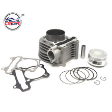 180cc 61mm GY6 Cylinder kit Big Bore High Performance 125cc 150cc Scooter ATV Go Karts Moped