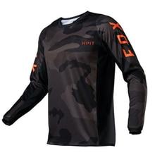 FOX Herren Radfahren Jersey Mountainbike T-Shirt MTB Racing Motocross Kurzarm