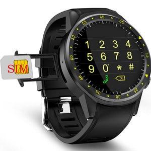 Image 2 - F1スマート腕時計メンズsimカードスポーツスマートウォッチgpsサポート歩数計のbluetooth 4.0カメラ腕時計女性iosのandroid携帯