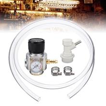 1Pc CO2 Gas Regulator CO2 Mini Gas Regulator CO2 Gas Regulator Gas Line Corny Cornelius Keg Charger Ball Lock
