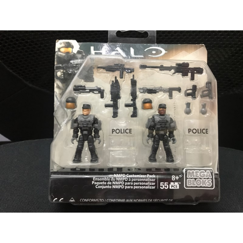 Halo NMPD Customizer Pack Set # CNC96 Mega Bloks Building Set CNC95 Spartan Customizer Pack