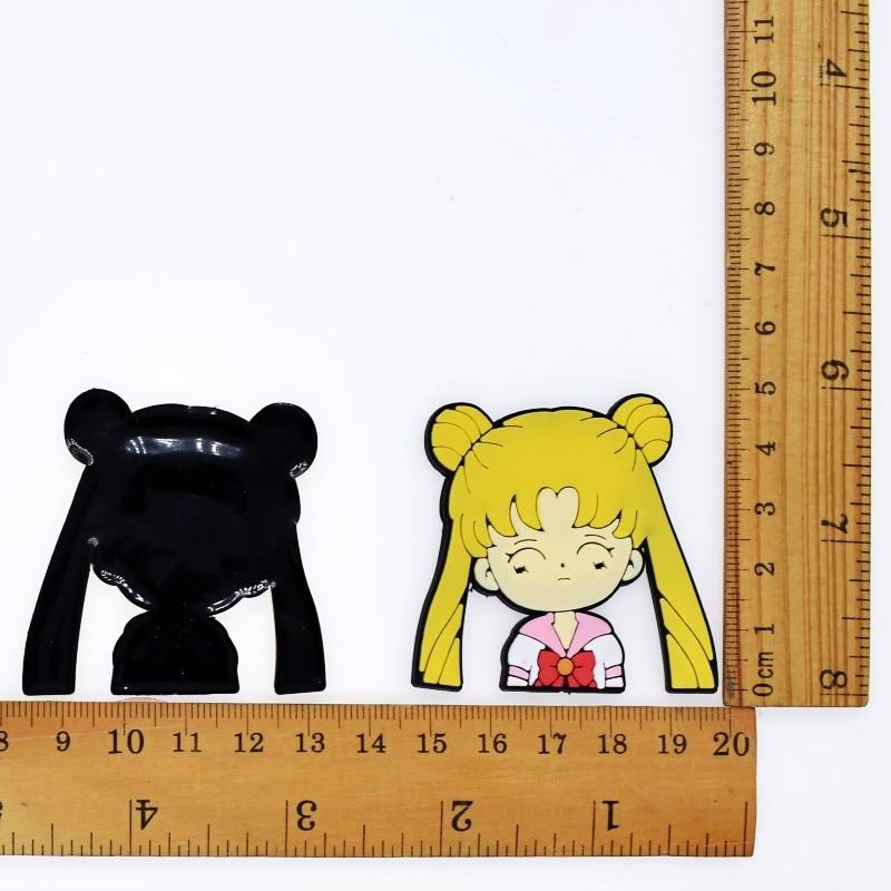 DIY Japan Animation Bunny/Bear Panda Classic Cartoon Fashion Flatback Soft PVC Patch Fit Stitching Glue On Backpacks/Clothes