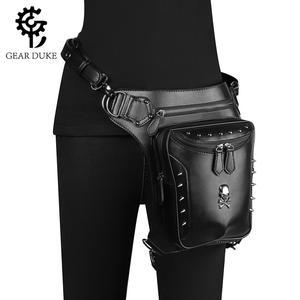 Винтажная сумка в стиле стимпанк, Ретро Рок, готическая ретро сумка через плечо, сумка через плечо, сумки на талию в викторианском стиле, жен...