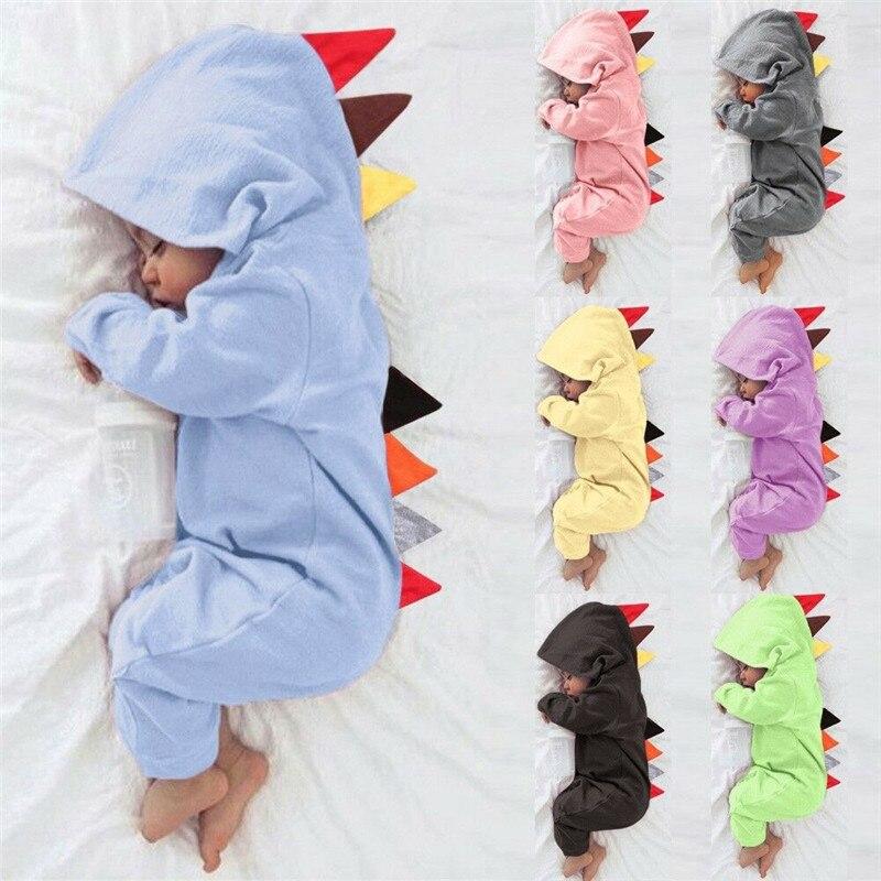 Dinosaur Group Animal Baby Onesies Toddler Baby Girl//Boy Unisex Clothes Romper Jumpsuit Bodysuit One Piece Gray