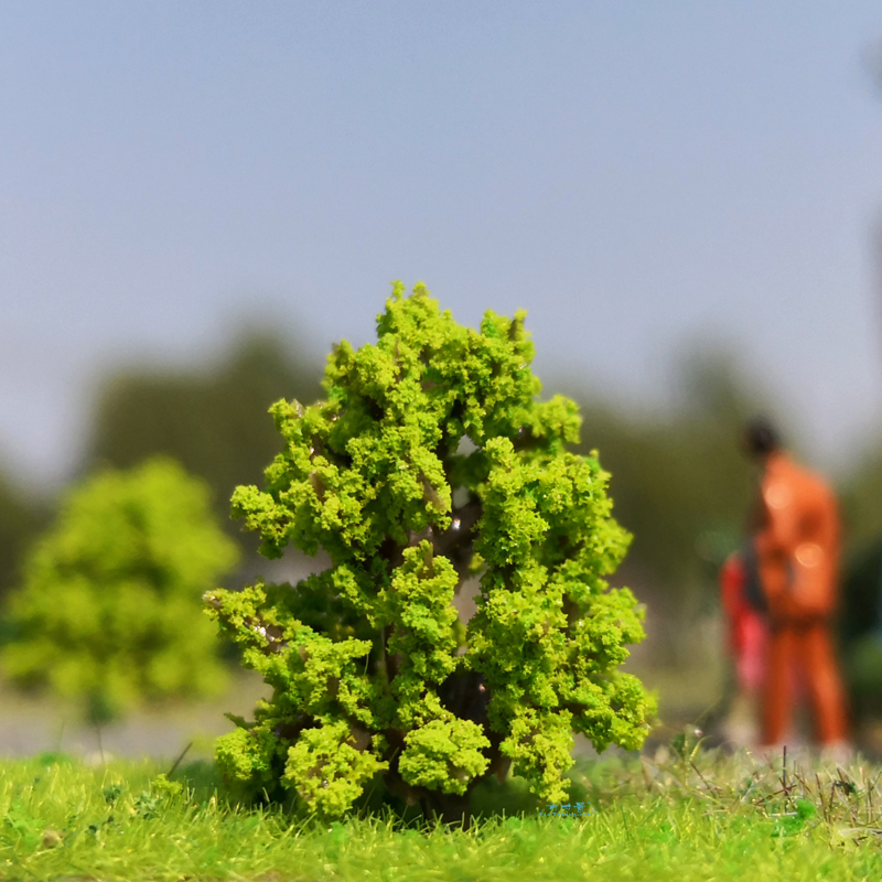 100/PKG 40mm Realistic Model Trees Landscape Model Train Railway Layout SceneryDIYminiature Diorams Display Gaming Military