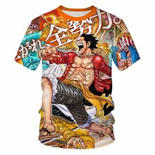One Piece New Movie Boys Girl T shirt Summer Harajuku Anime adventure 3D Printed Cool teenager Luffy 3d T-Shirt Short Tops Child