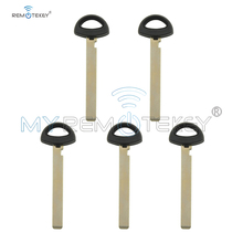Remtekey 5pcs small remote insert key blade For BMW Mini cooper smart emergency key blade uncut