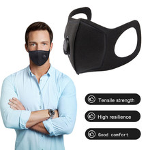 Pvp Gezichtsmasker Stofmasker Anti Vervuiling Maskers PM2.5 Activated Carbon Filter Insert Kan Worden Gewassen Herbruikbare Mond Maskers Warm(China)