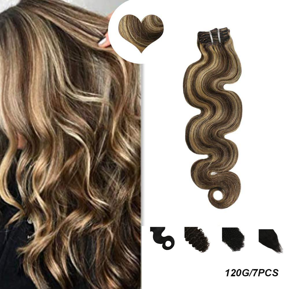 [New] Ugeat Clip In Hair Extensions 14-24