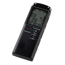 8GB مسجل صوتي USB المهنية المحمولة 96 ساعة الإملاء مسجل صوتي صوتي رقمي مع WAV ، مشغل MP3