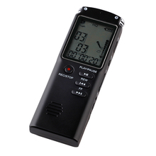 8GB מקליט קול USB מקצועי נייד 96 שעות דיקטפון הדיגיטלי אודיו מקליט קול עם WAV,MP3 נגן