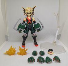 цена на New Hot My Hero Academia Action Figure Bakugou Katsuki Figure Figma443 Bakugou Katsuki Figure Model Toy Doll