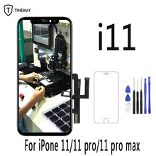 Original Für iPhone 11 LCD Display Für iPhone 11 Pro Screen Digitizer Für iPhone 11 Pro Max XS MAX X XR LCD Montage Mit Tools(China)