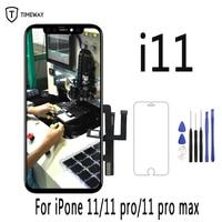 Original para iphone 11 display lcd para iphone 11 pro digitador da tela para iphone 11 pro max xs max x xr lcd conjunto com ferramentas