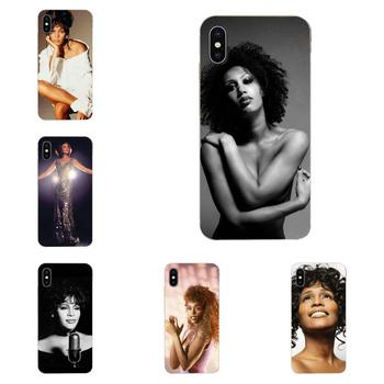 Sexy Singer Whitney Houston Soft Cell Phone For Xiaomi CC9 CC9E Mi 3 4 4i 5 5S 6 6X 8 9 SE Play Plus Pro Lite A1 Mix 2 Note 3 image