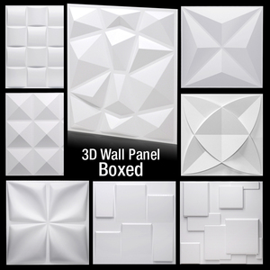 30x30cm 3D Wall Sticker Imitat