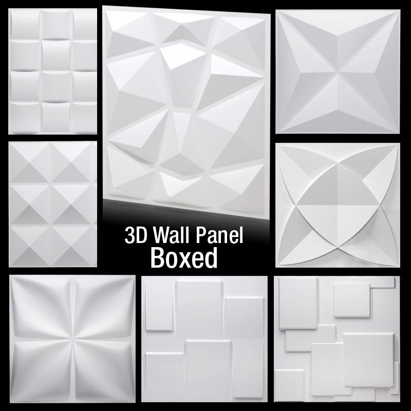 Настенные 3D стикеры для гостиной, настенные аксессуары для ванной и кухни, уличная форма для плитки, гипсовая 3d-панель, 30 х30 см