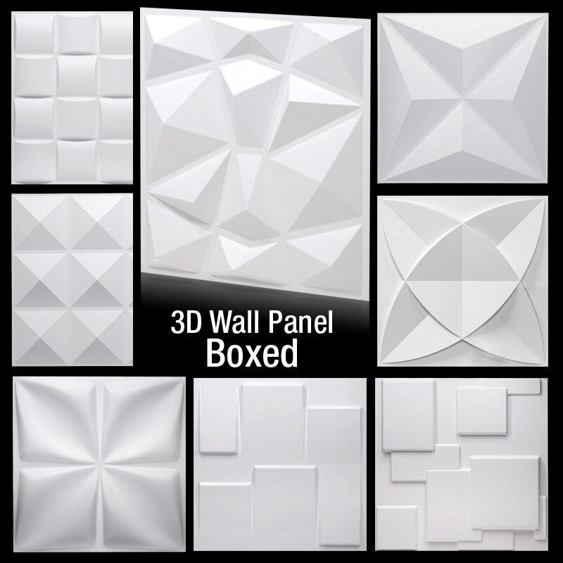 30x30cm Wall Plastic Flower Mold Window Mould DIY Concrete Mold Cement Brick  R