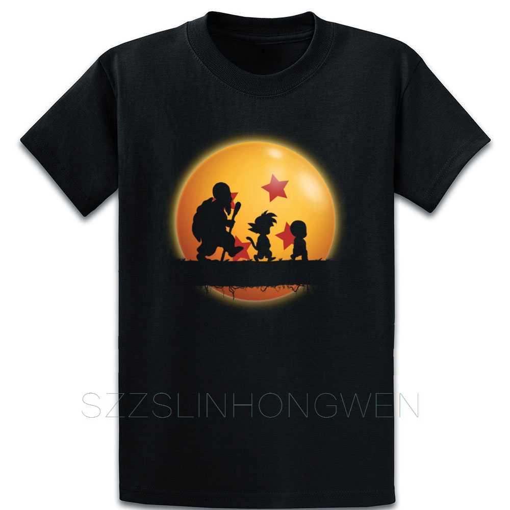 Dragonball Awesome 4 звезды футболка с драконом базовая свободная на заказ тренд размер
