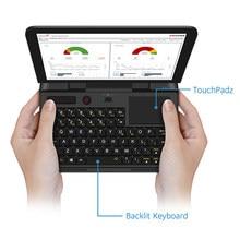 Barato bolso portátil netbook computador portátil portátil portátil gpd micropc 6 Polegada rj45 rs232 hdmi-compatível com windows 10 pro 8g ram retroiluminado