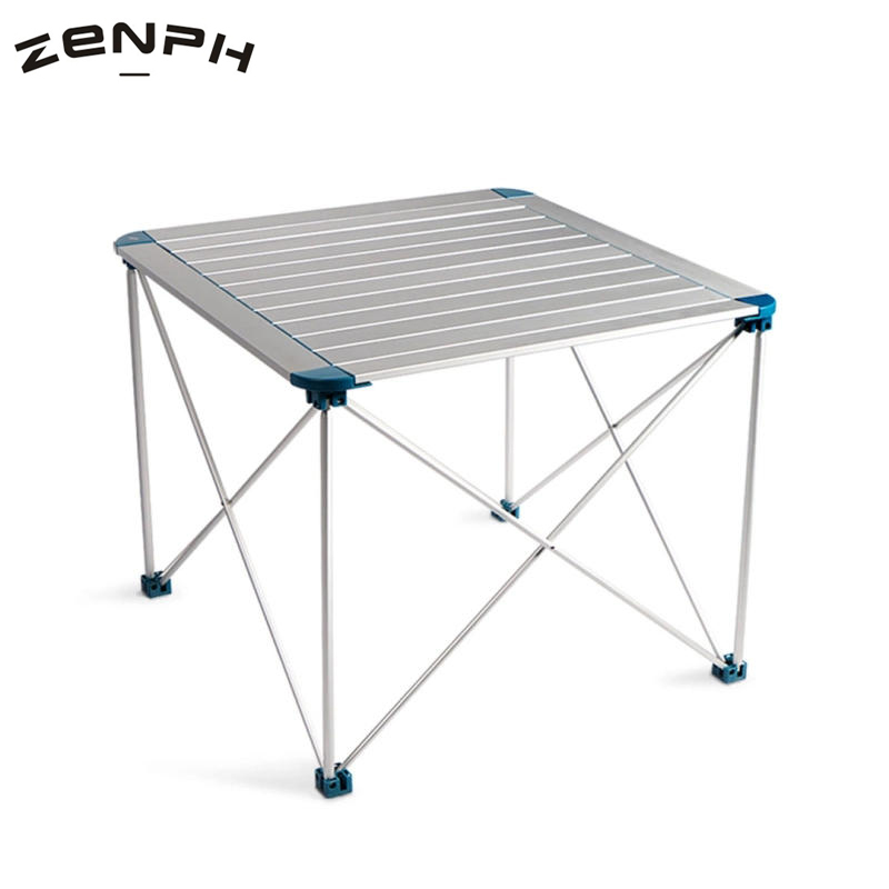 Zenph Outdoor Camping Folding Table Aluminium Alloy Picnic BBQ Waterproof Ultra-light Durable