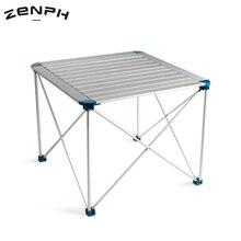 Zenph Outdoor Camping Folding Table Aluminium Alloy Picnic BBQ Waterproof Ultra-light Durable