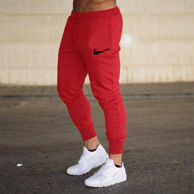 Brand 2021 Summer Men's Jogging Pants Fashion Training Casual Sports Pants Men's Running Pants Gym Muscle Fitness Stretch Pants 5