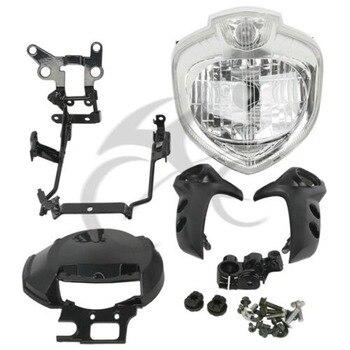 Motorcycle Headlight Set Head Light Assembly For Yamaha FZ6 FZ6N 2004-2006 2005