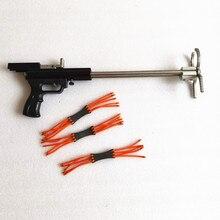 Мини-Рогатка телескопическая с двойным подшипником, раздвижная Рогатка 55 см, игрушки для стрельбы на открытом воздухе, Рогатка высокого кач...