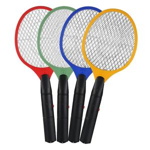 1 Pcs 5 Color Electric Hand Held Bug Zapper Insect Fly Swatter Racket Portable Mosquitos Killer Pest Control For Bedroom Outdoor